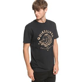 Quiksilver CA Brown Bear T-shirt Homme, black